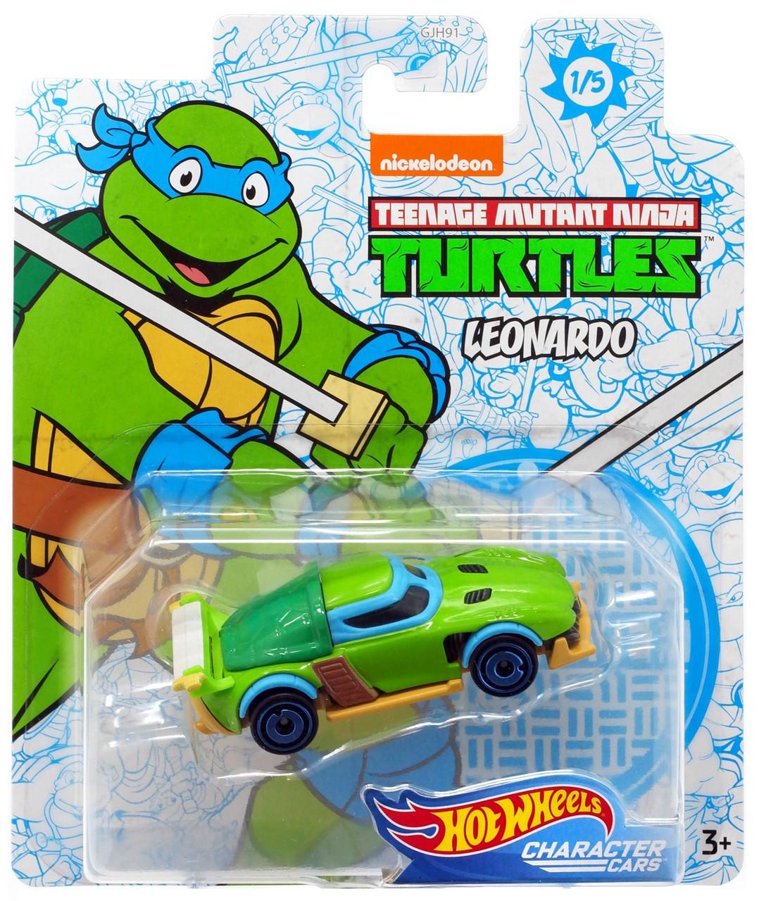 Hot Wheels Teenage Mutant Ninja Turtles Surfin School Bus Kids Diecast Model Toy