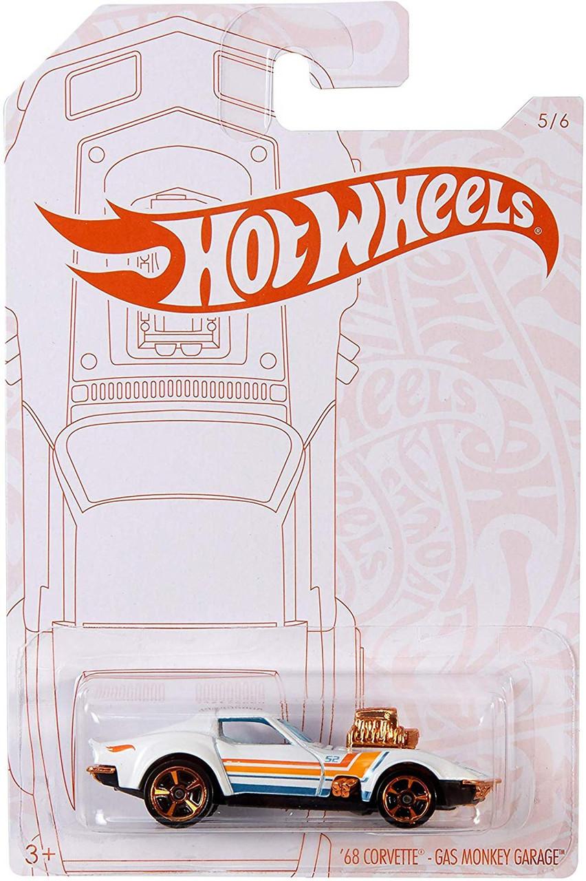2020 Hot Wheels Pearl and Chrome  Set of 6 Gasser VW Hauler Ford Corvette