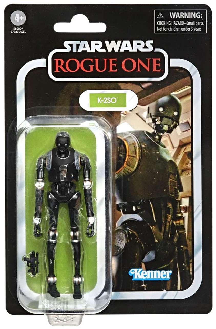 """Star Wars Rogue One 3.75/"""" K-2SO Imperial Security Droid Loose 100/% Complete"""