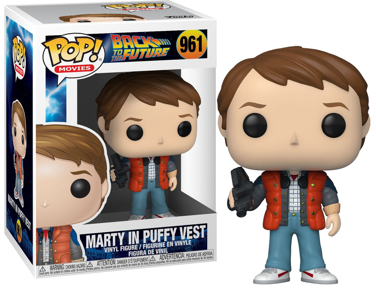 VINYL BACK TO THE FUTURE DOC WITH HELMET ** PREORDER ** FUNKO POP