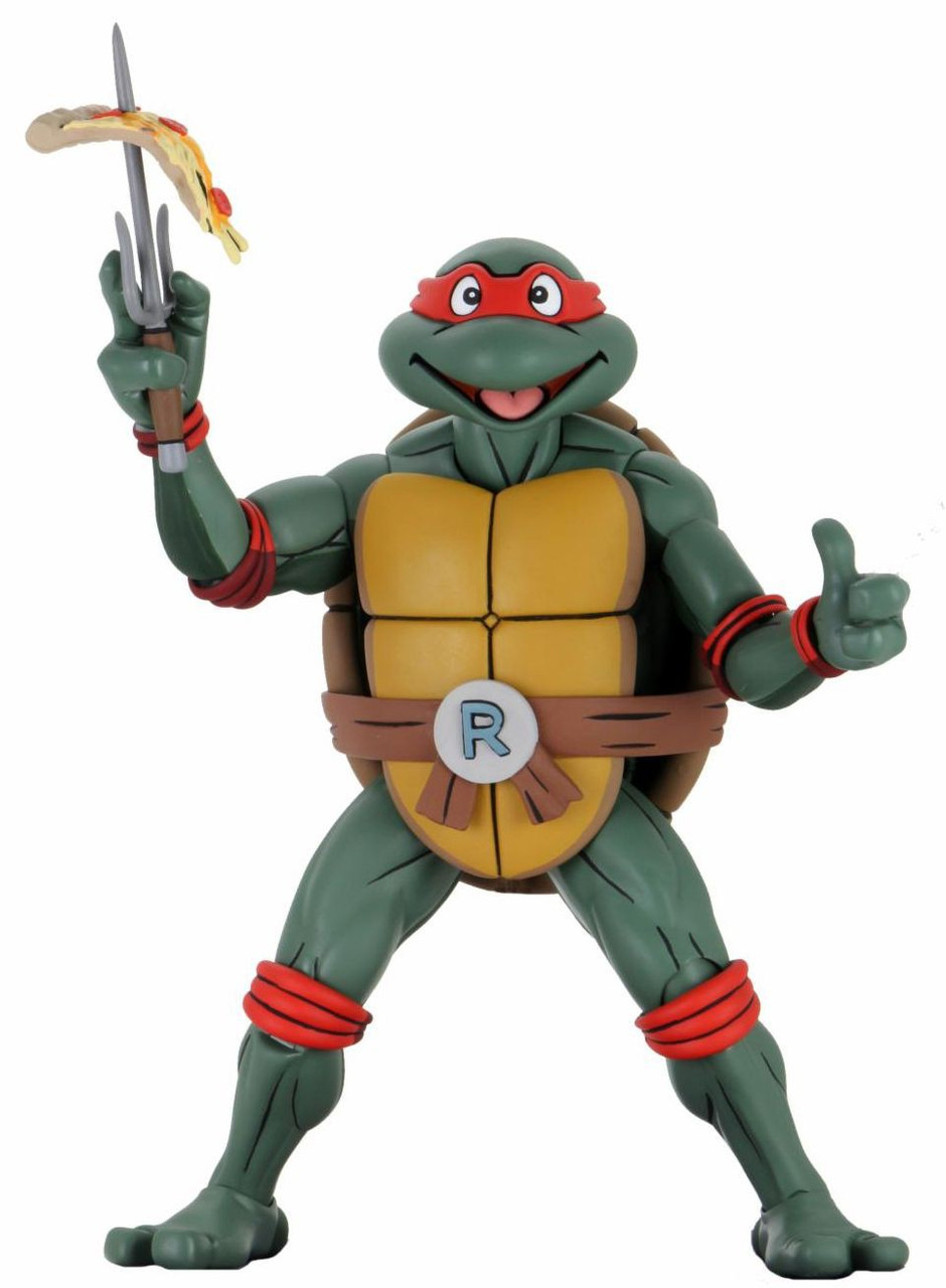 NECA Teenage Mutant Ninja Turtles Quarter Scale Raphael 14 Action Figure  Cartoon - ToyWiz