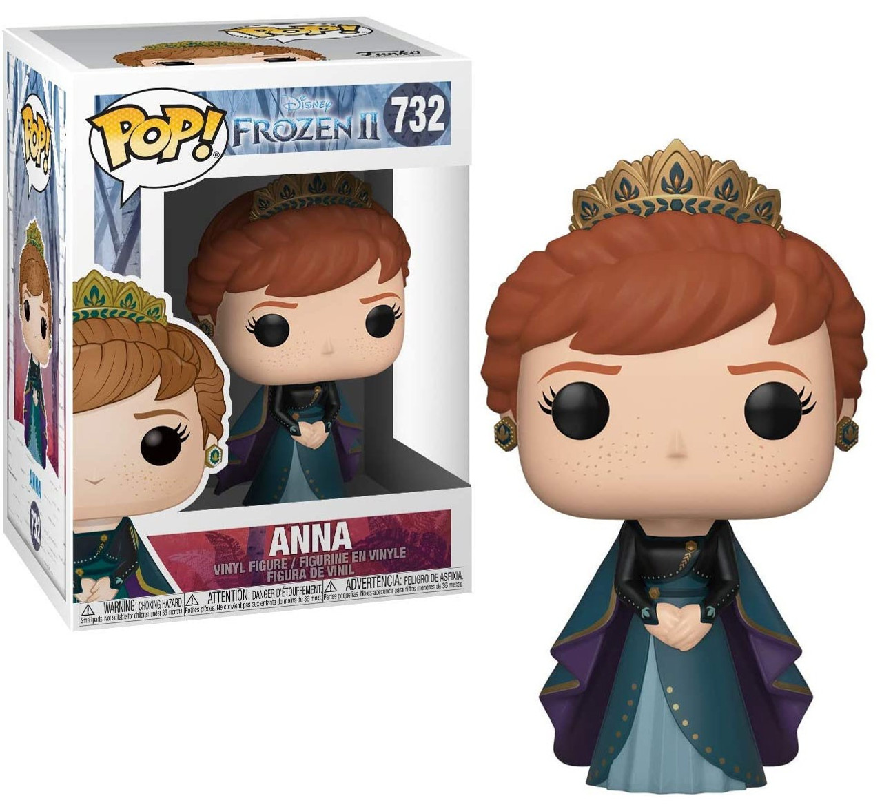 Funko Disney Frozen 2 Pop Disney Anna Vinyl Figure Epilogue Dress Toywiz