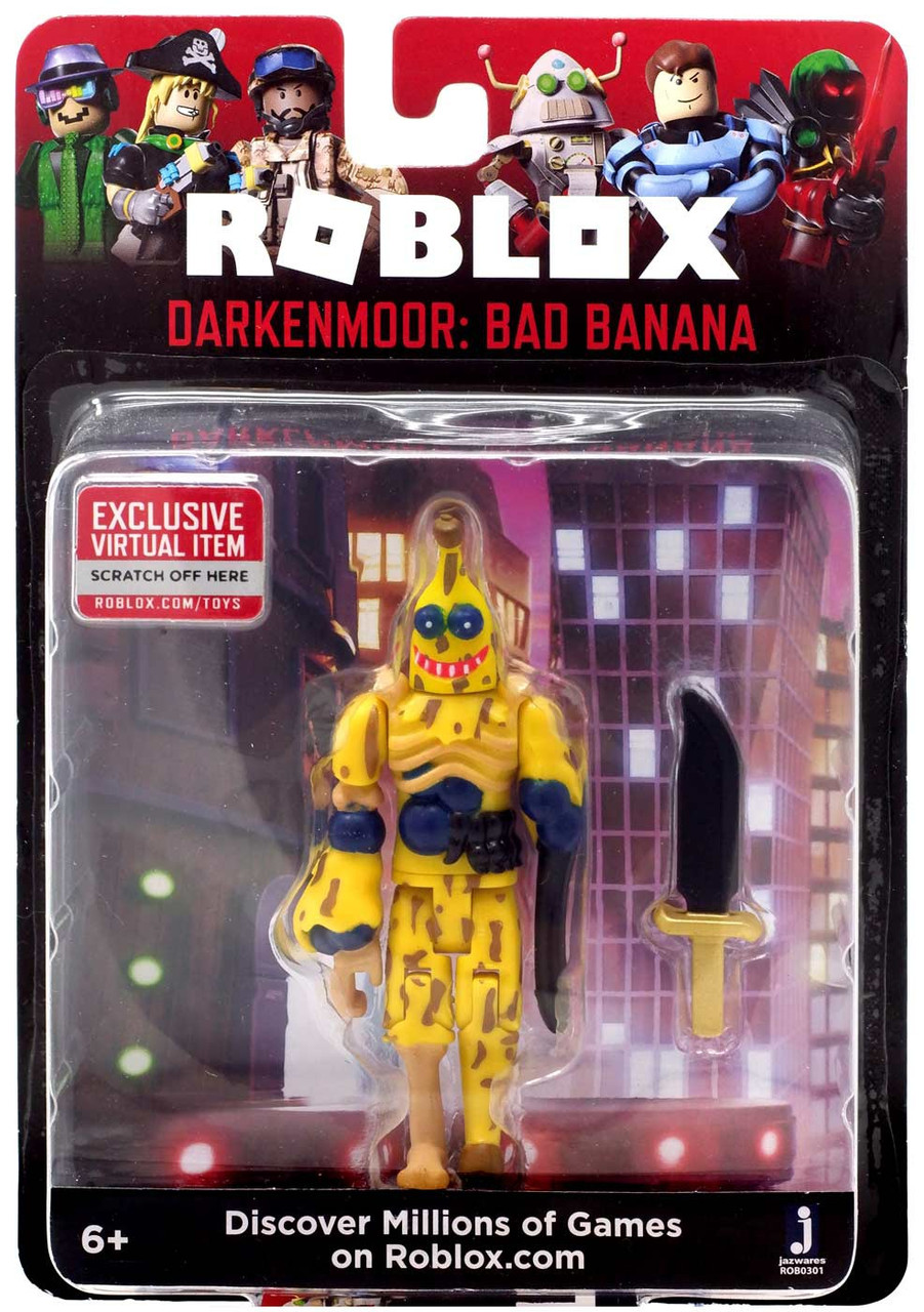 Roblox Darkenmoor Bad Banana 3 Action Figure Jazwares Toywiz