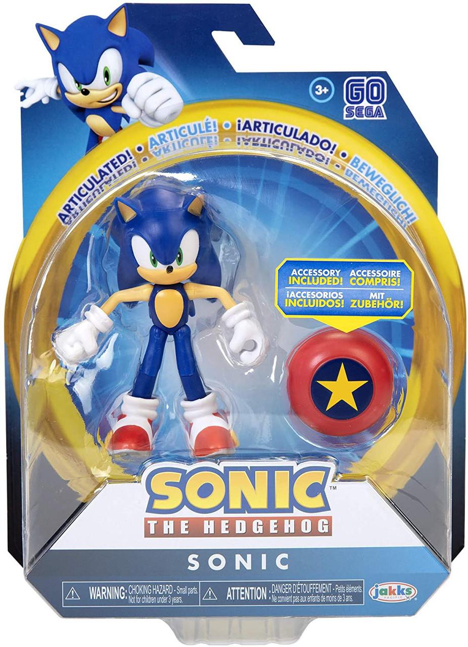 Sonic The Hedgehog Basic Wave 1 Modern Sonic Star Spring 4 Action Figure Jakks Pacific Toywiz