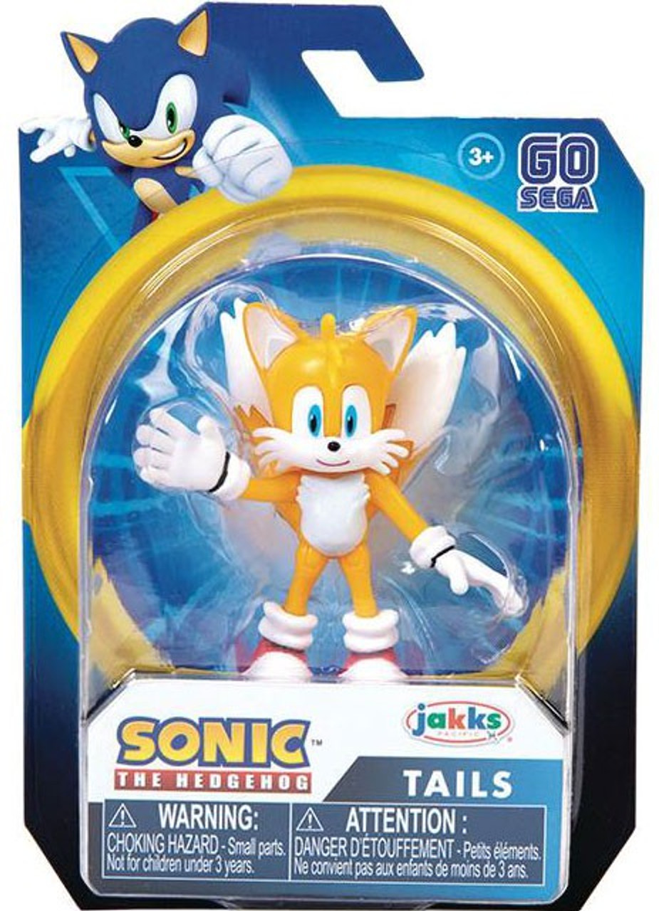 Sonic The Hedgehog Wave 1 Modern Tails 2 5 Mini Figure Jakks Pacific Toywiz