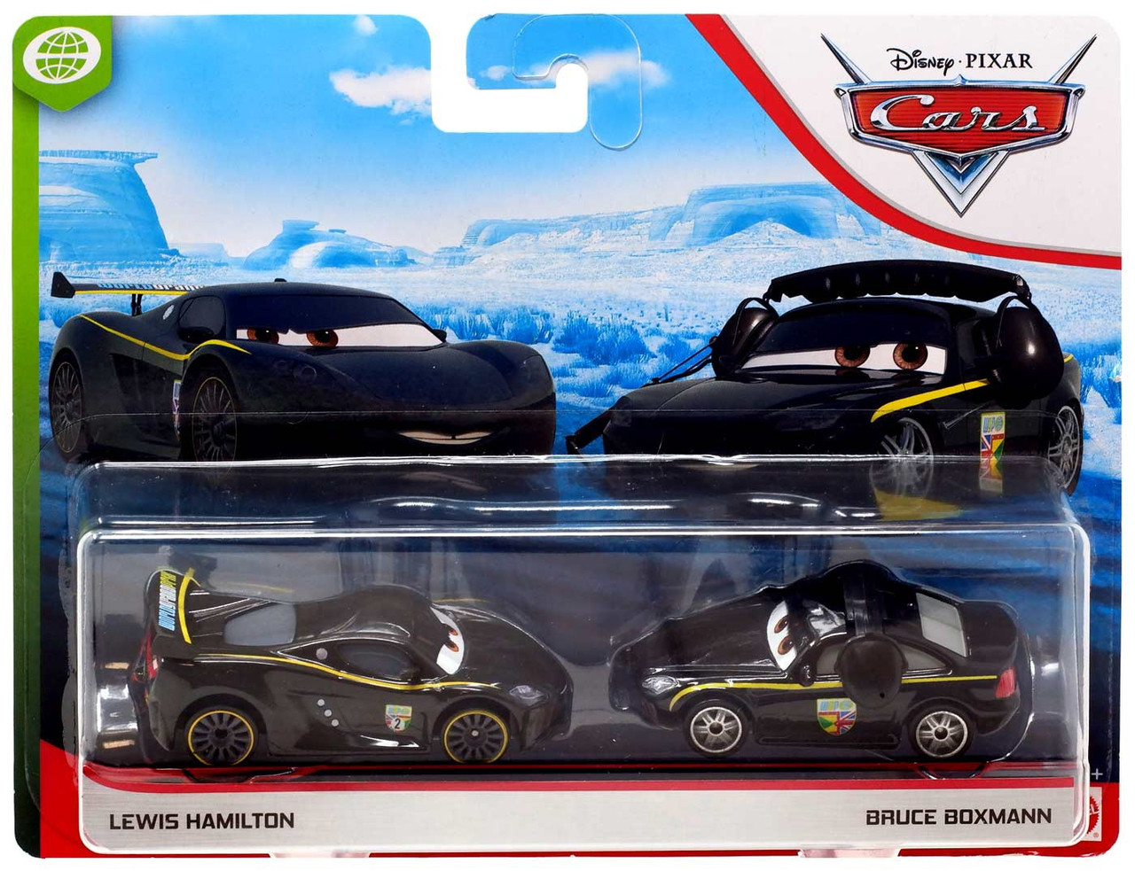 Mattel Disney Pixar Cars 2 LEWIS HAMILTON #24 Car 1:55 Scale