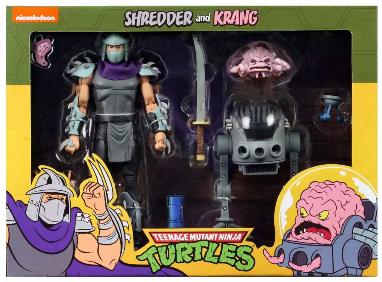 Neca Teenage Mutant Ninja Turtles Shredder Krang Exclusive 7
