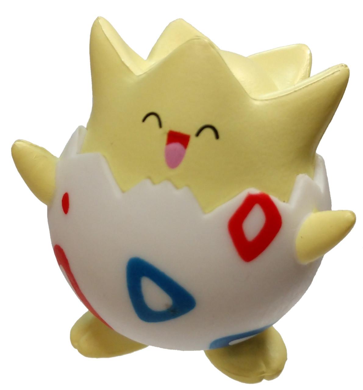 pokemon figure Togepi 1.5 inches each USA seller
