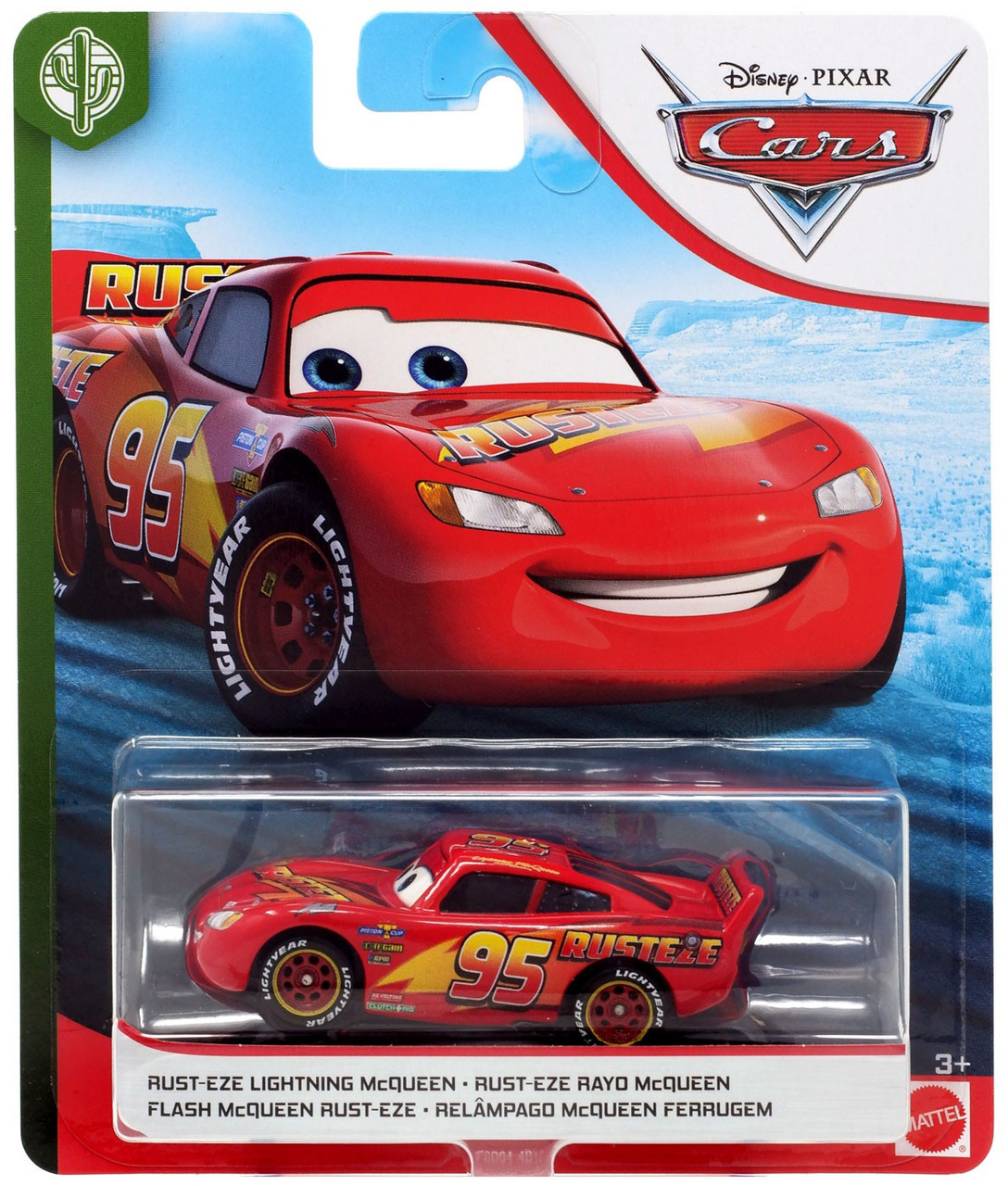 Disney Pixar Cars Cars 3 Copper Canyon Speedway Rust Eze Lightning