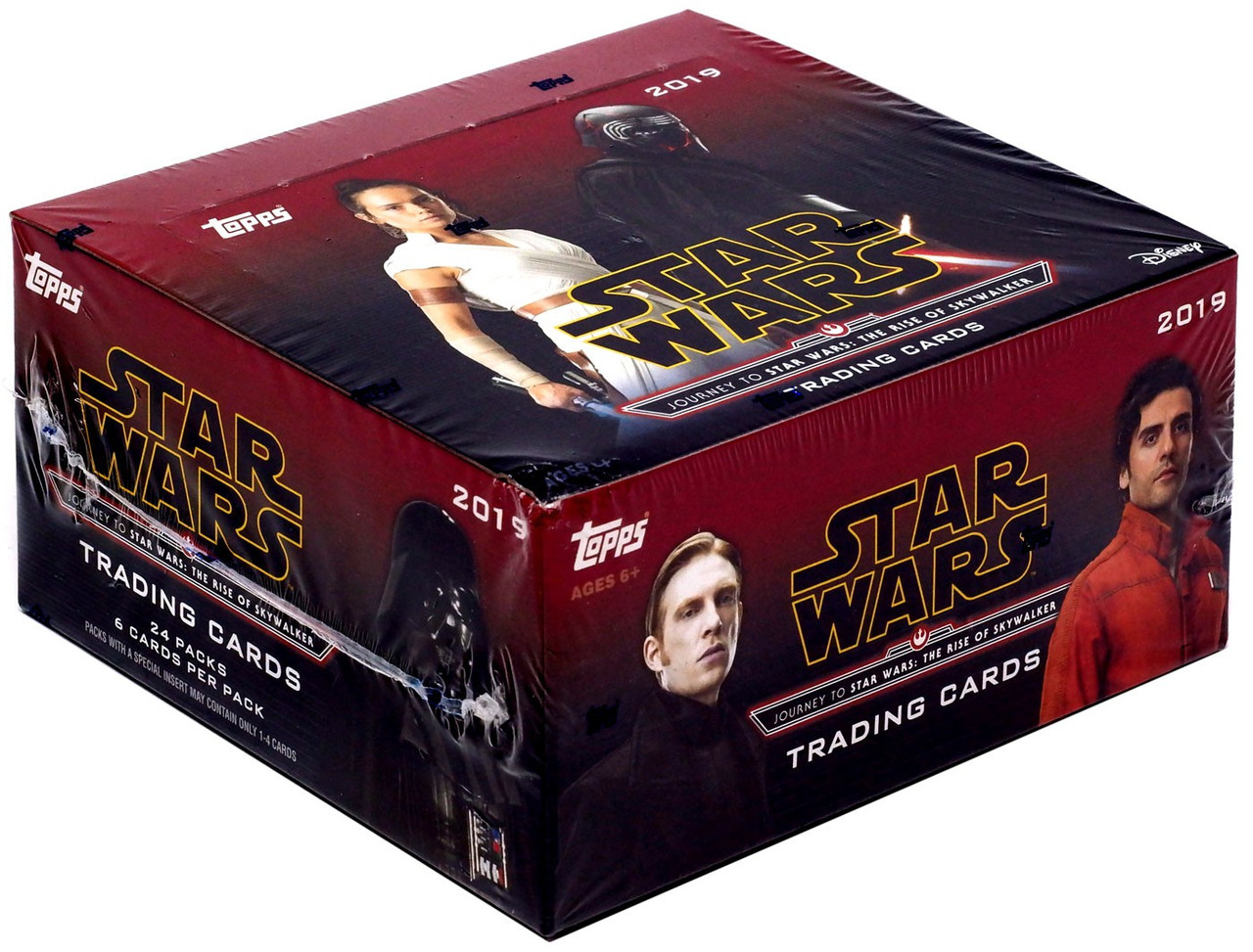 Star Wars Topps Journey To Star Wars The Rise Of Skywalker Trading Card Retail Box 24 Packs Toywiz