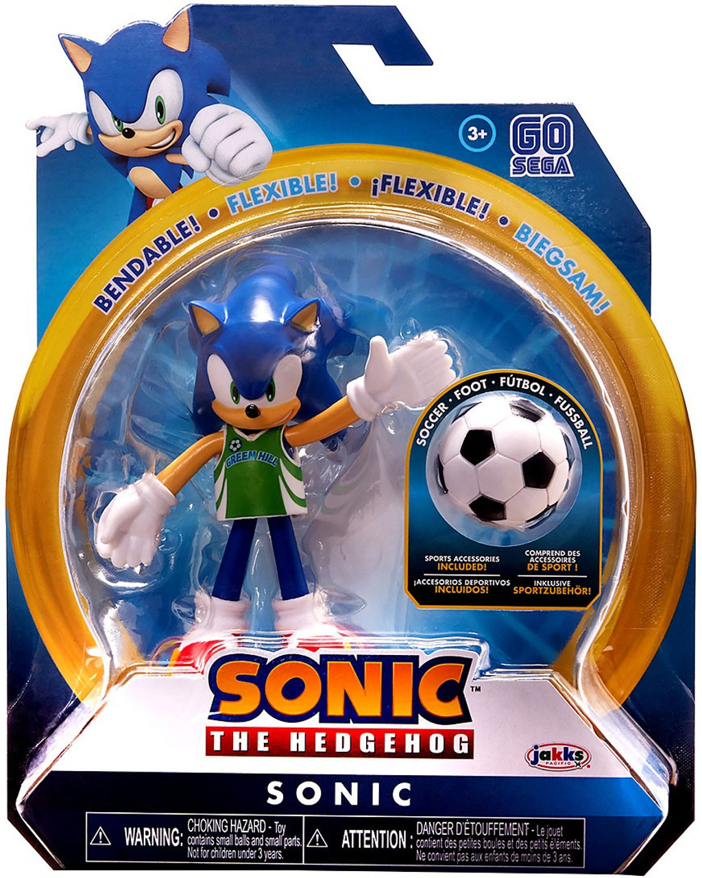 Sonic the Hedgehog Basic Sonic action figure Tails spinnable disque