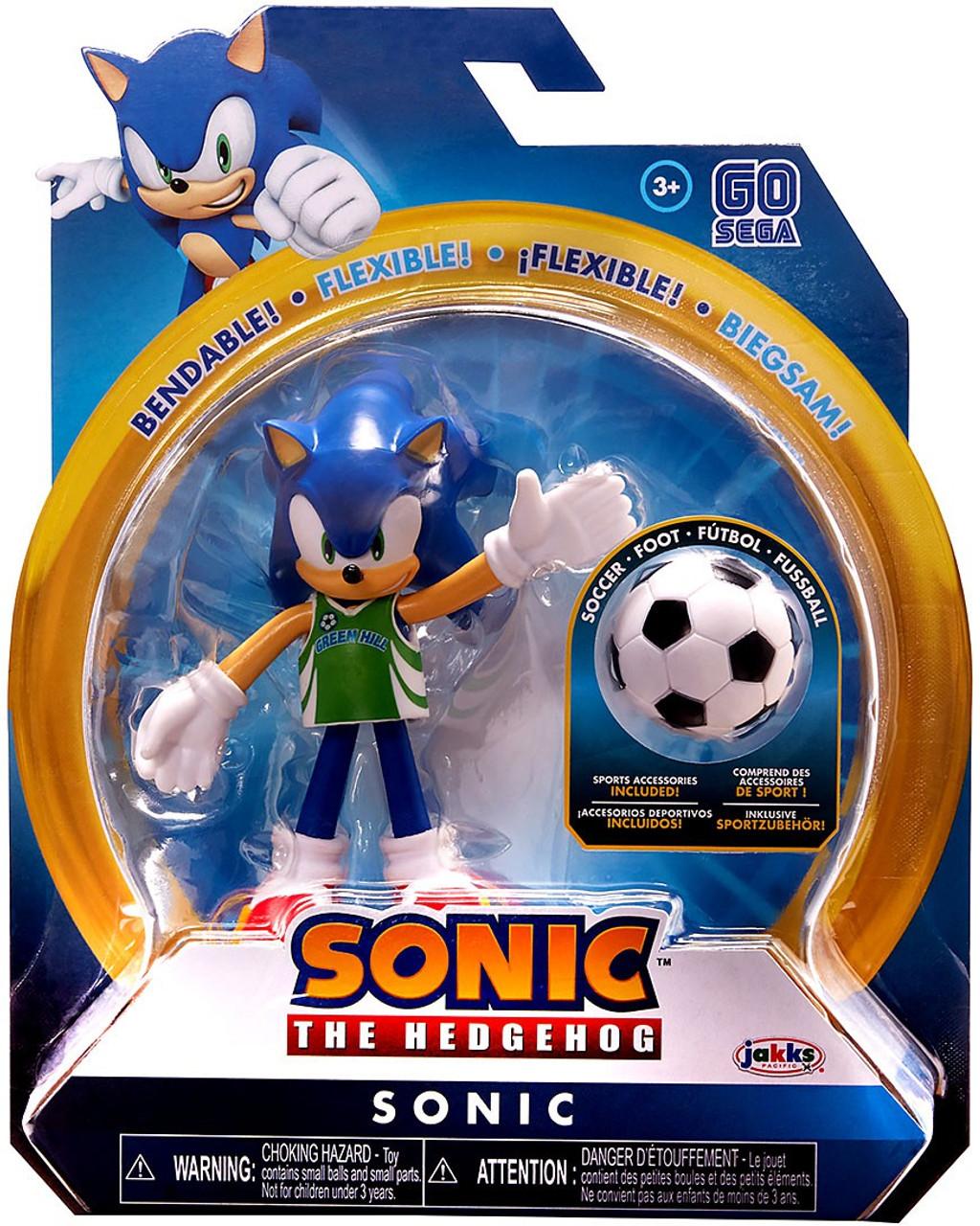 Sonic The Hedgehog Basic Series 3 Soccer Sonic 4 Action Figure Jakks Pacific Toywiz