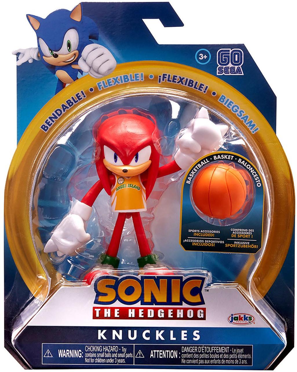 Sonic The Hedgehog Basic Series 3 Basketball Knuckles 4 Action Figure Jakks Pacific Toywiz