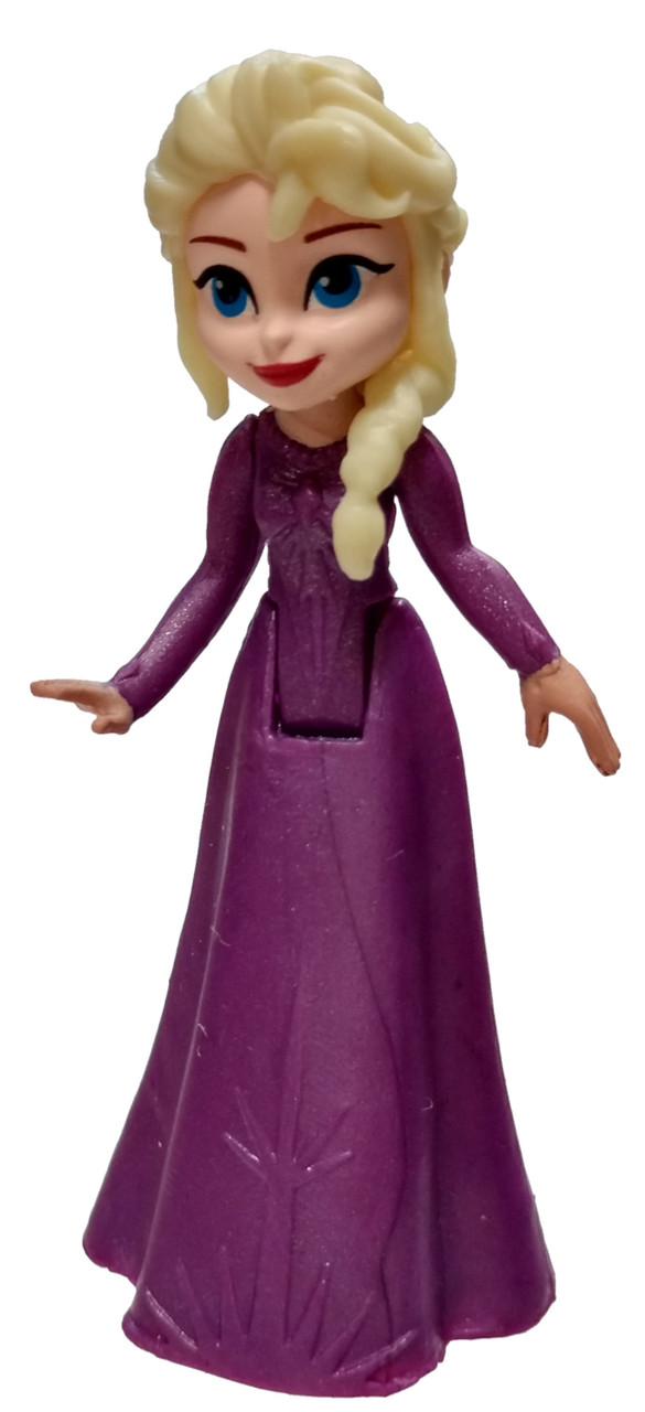 Disney Frozen II Figural Bag Clip Series 3 Inch Elsa All Purple