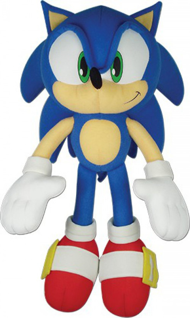 Sonic The Hedgehog Sonic 12 Plush Ge Animation Toywiz