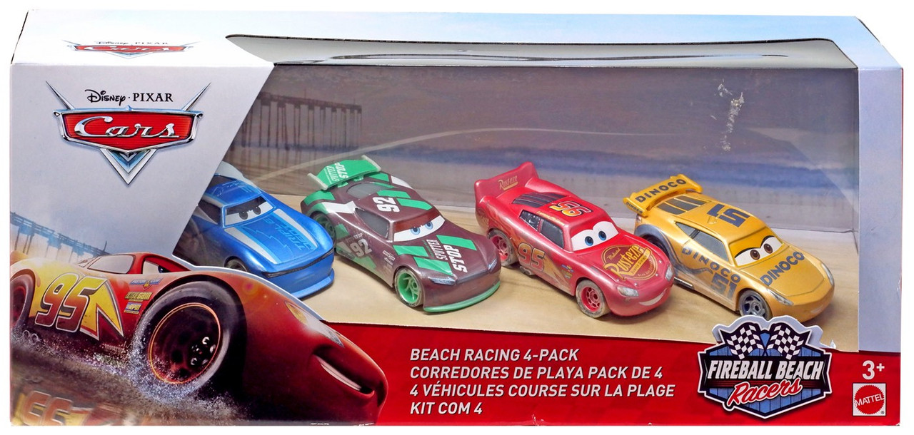 Disney Pixar Cars Cars 3 Fireball Beach Racers Lightning Mcqueen