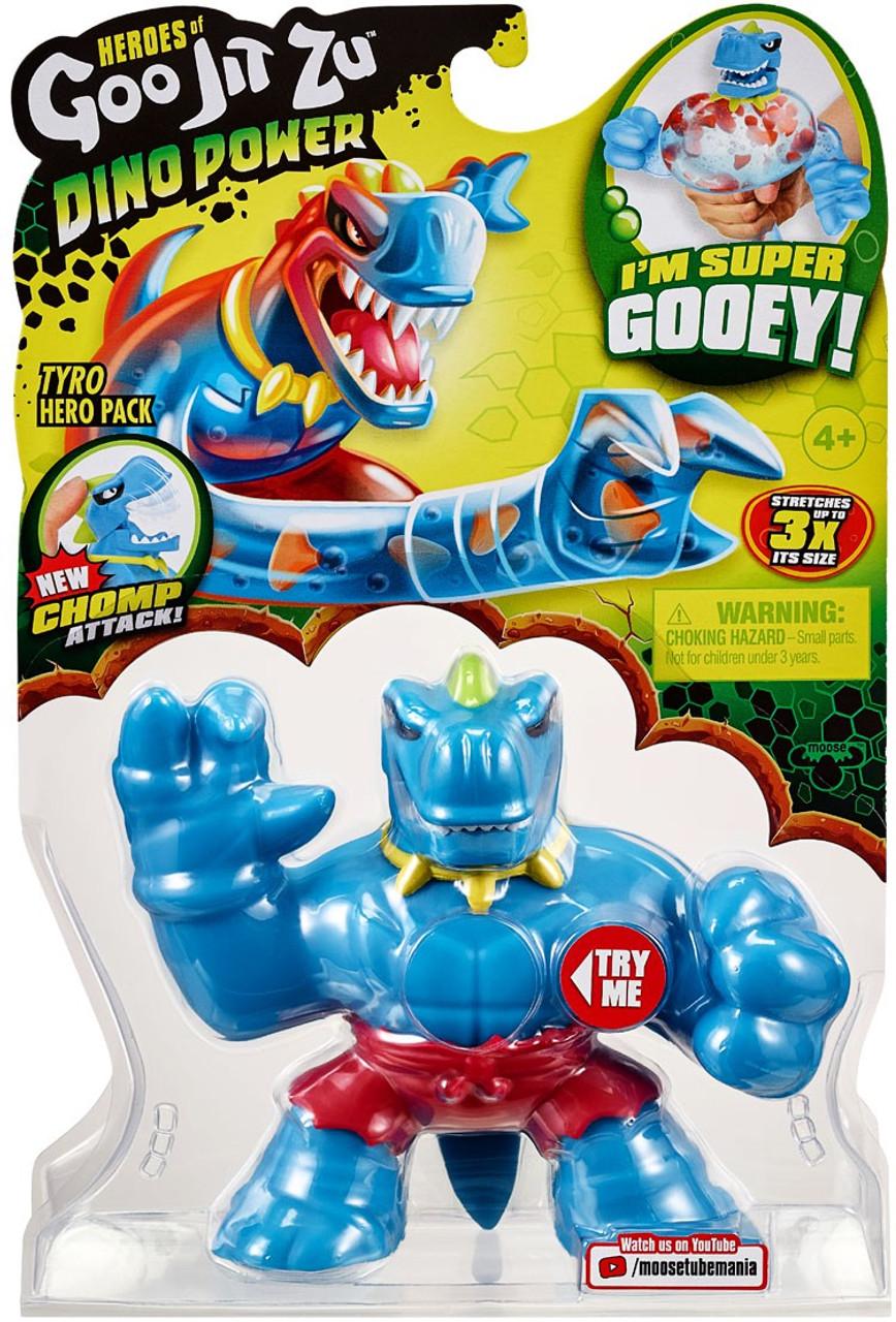 Thrash Hero Pack Heroes of Goo Jit Zu Dino Power Chomp Attack Figure New