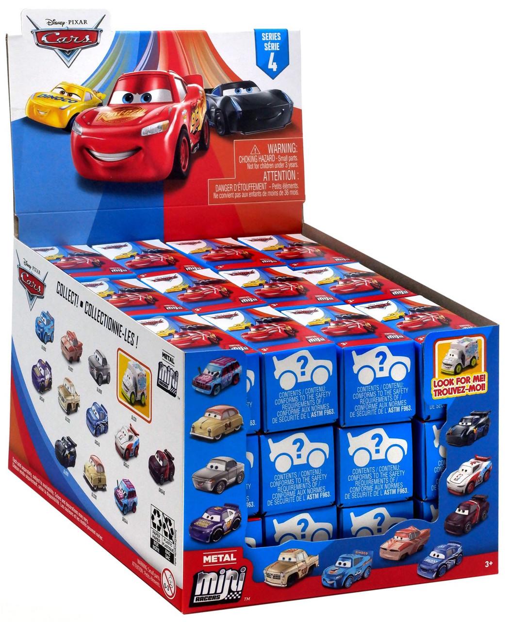 4 X Food Box Disney Cars