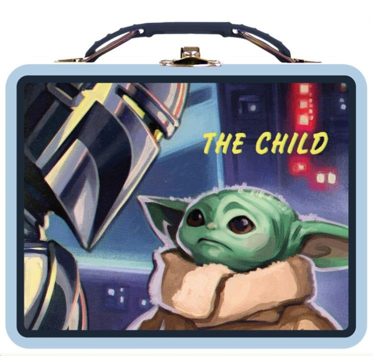 Star Wars Mandalorian The Child Baby Yoda in Pram Levitate Bag Backpack Clip