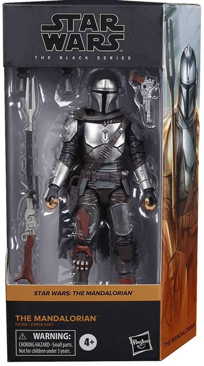 "Star Wars The Mandalorian Beskar action figure Black series 6/"" #01 NIB Disney"
