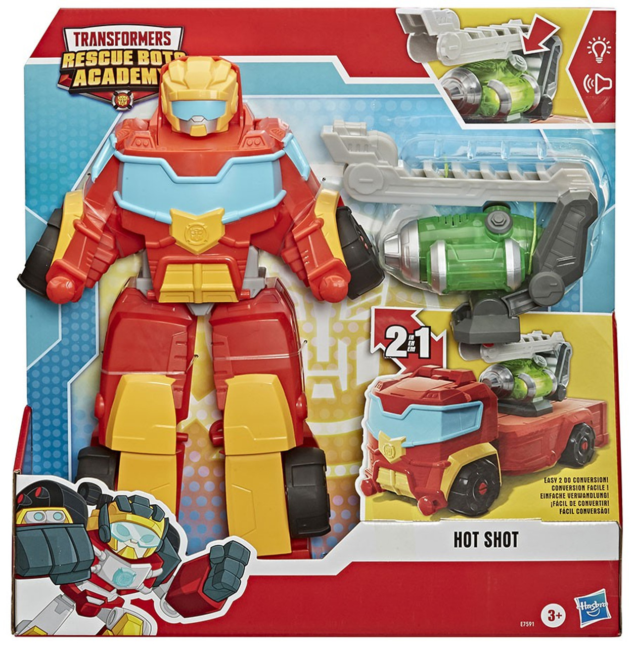 Transformers Rescue Bots Academy Hot Shot and Wedge Playskool Heroes