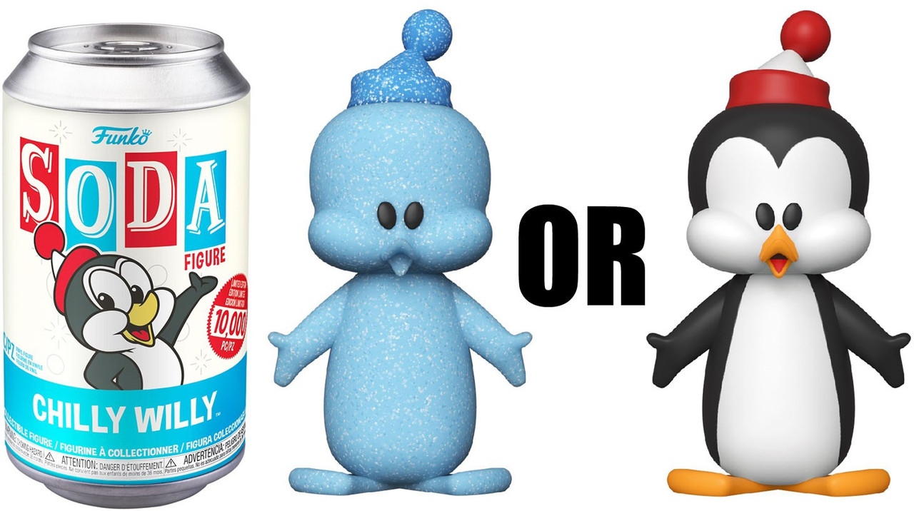 VINYL SODA CHILLY WILLY WITH POSSIBLE CHASE ** PREORDER ** FUNKO POP