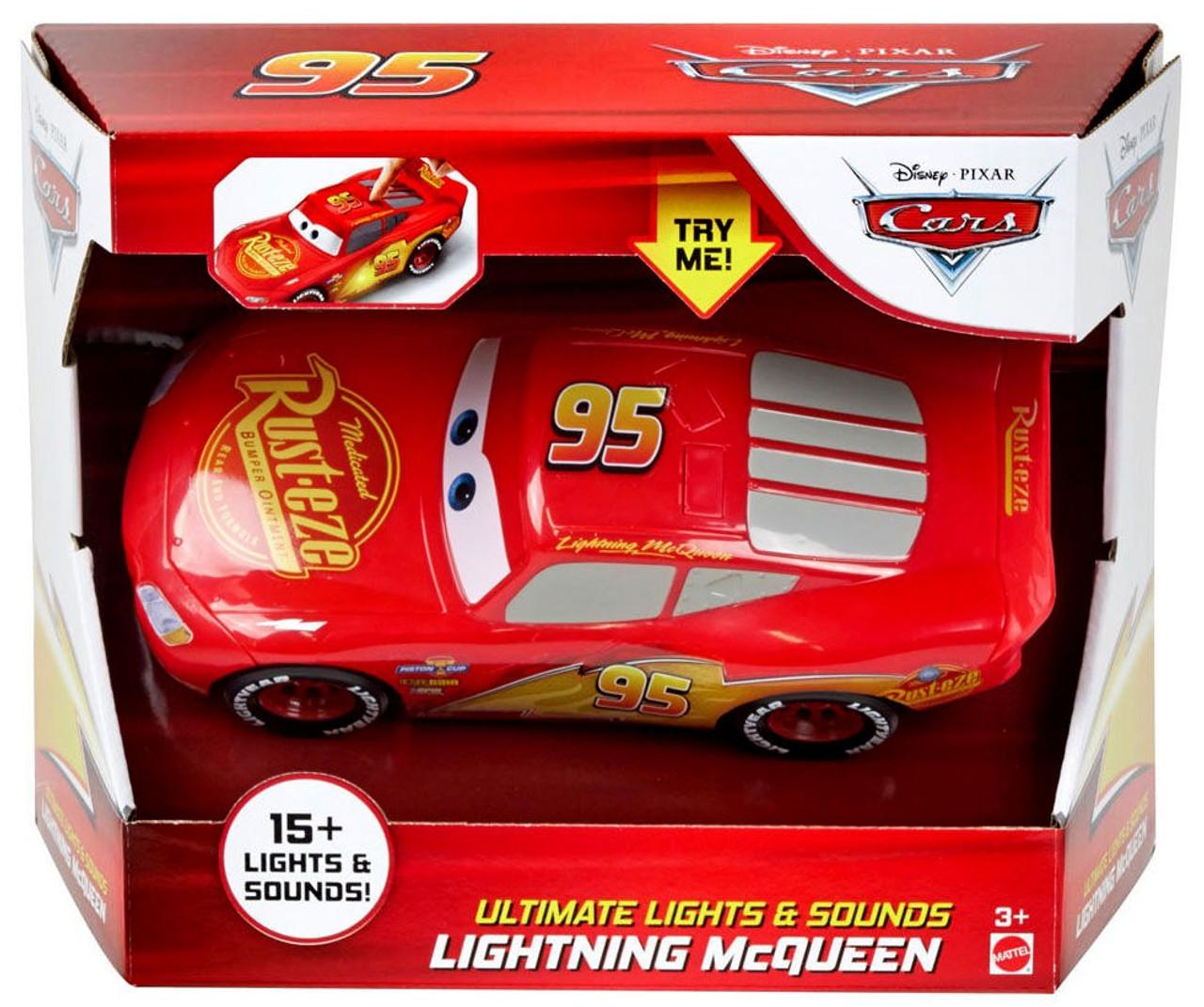 Disney Pixar Cars Cars 3 Ultimate Lights Sounds Lightning Mcqueen Vehicle Mattel Toys Toywiz