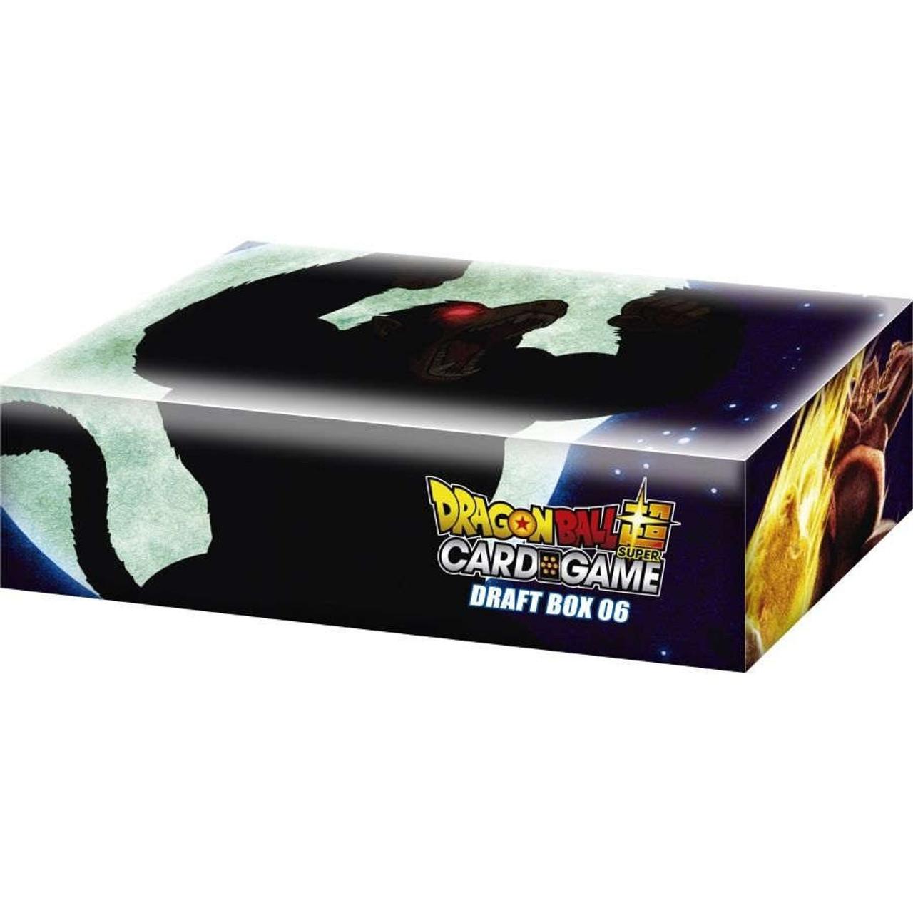 Dragon Ball Super Trading Card Game Draft Box 06 Giant Force Booster Box 24 Packs Bandai America Toywiz