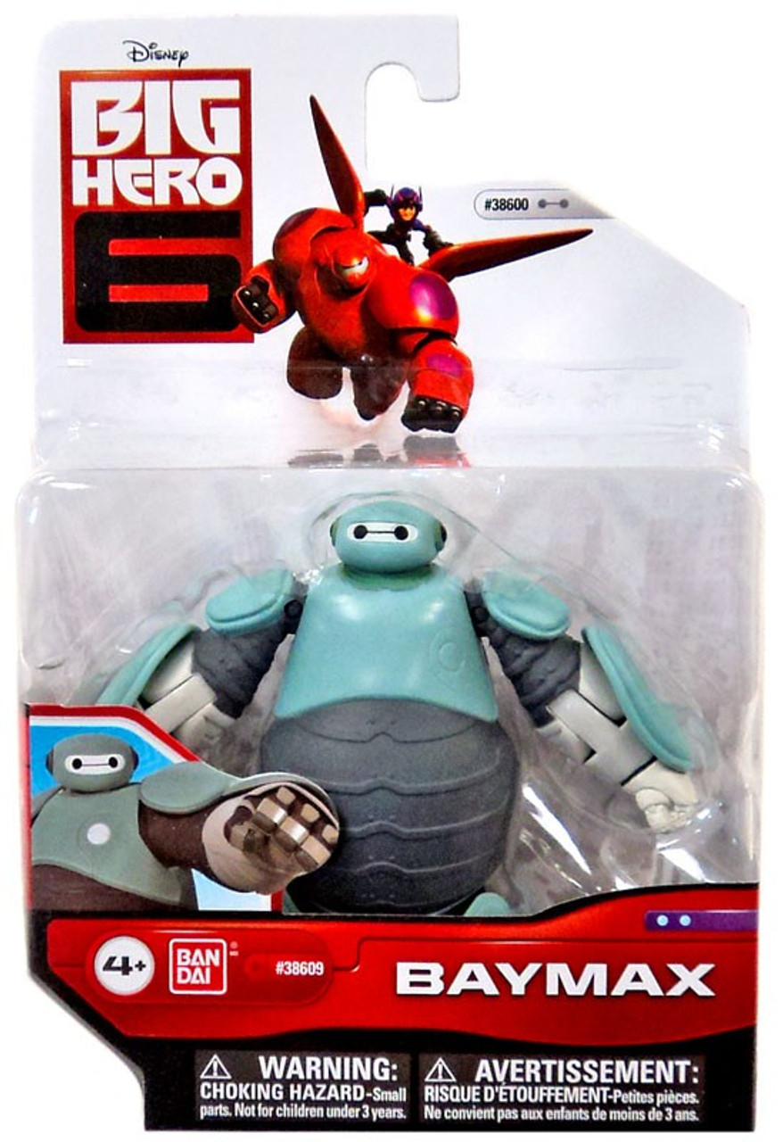 Big Hero 6 Baymax 4 Action Figure Prototype Armor Damaged Package Bandai America Toywiz