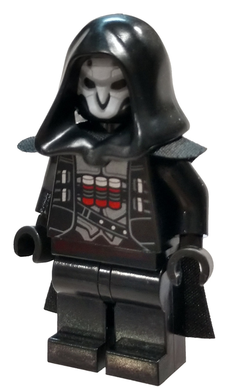 Lego New Overwatch Minifigure Reaper Halloween Fig