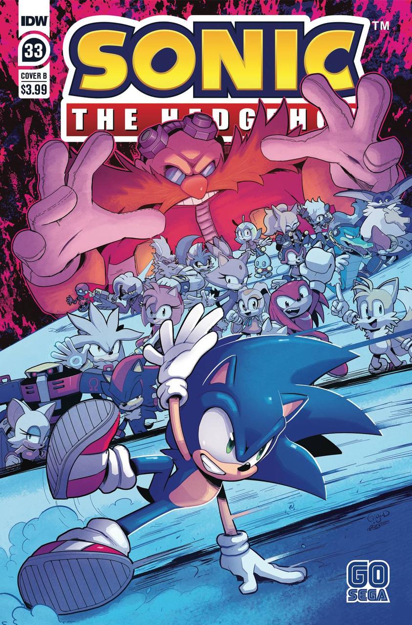 Idw Sonic The Hedgehog Comic Book 33 Cover B Idw Publishing Toywiz