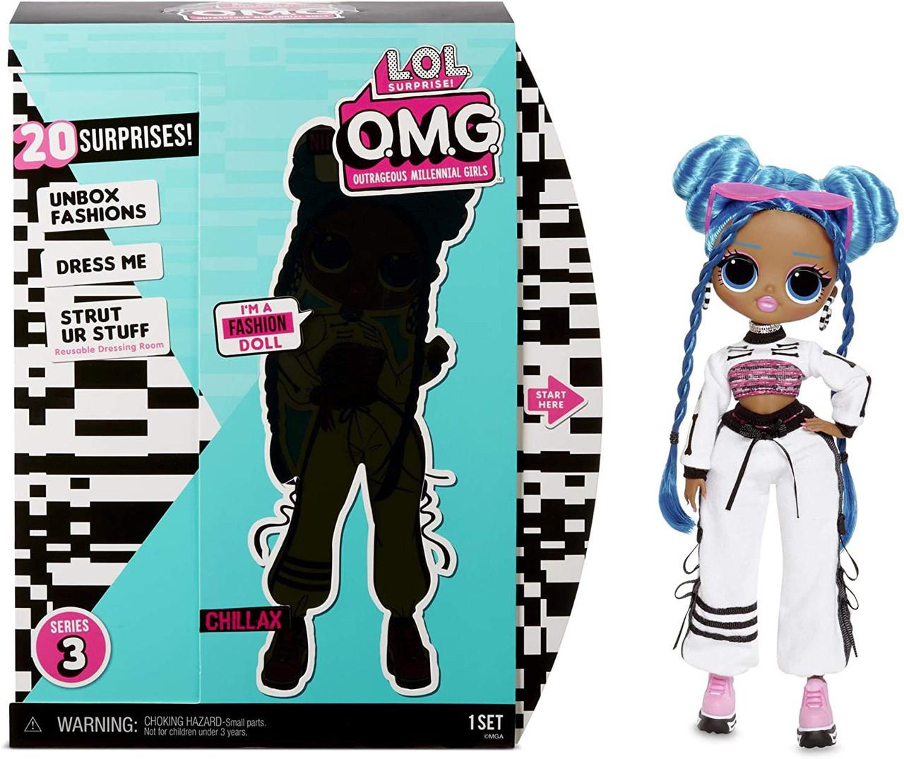 LOL Surprise OMG Series 3 Chillax Fashion Doll MGA ...