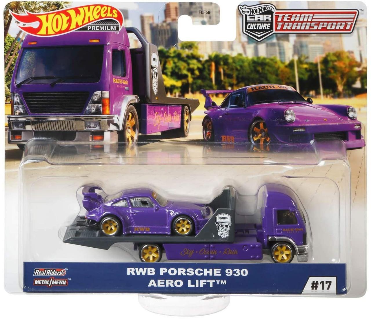 Hot Wheels Car Culture Team Transport Rwb Porsche 930 Aero Lift 164 Diecast Car Mattel Toys Toywiz