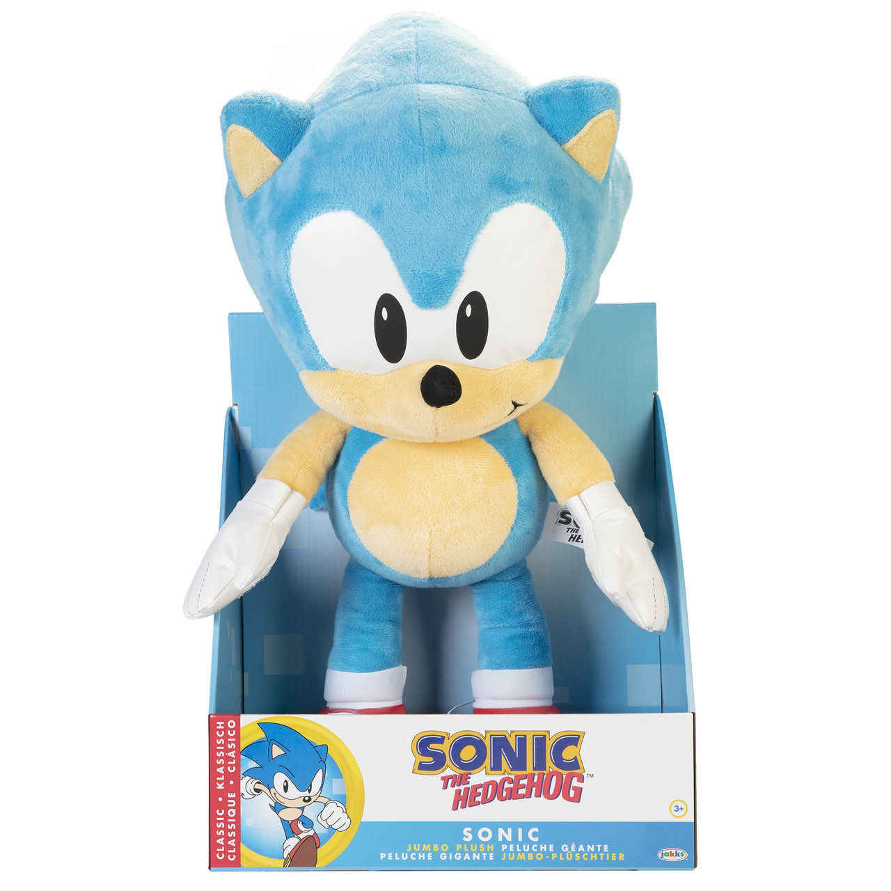 Sonic The Hedgehog Sonic Jumbo Plush Classic Jakks Pacific Toywiz