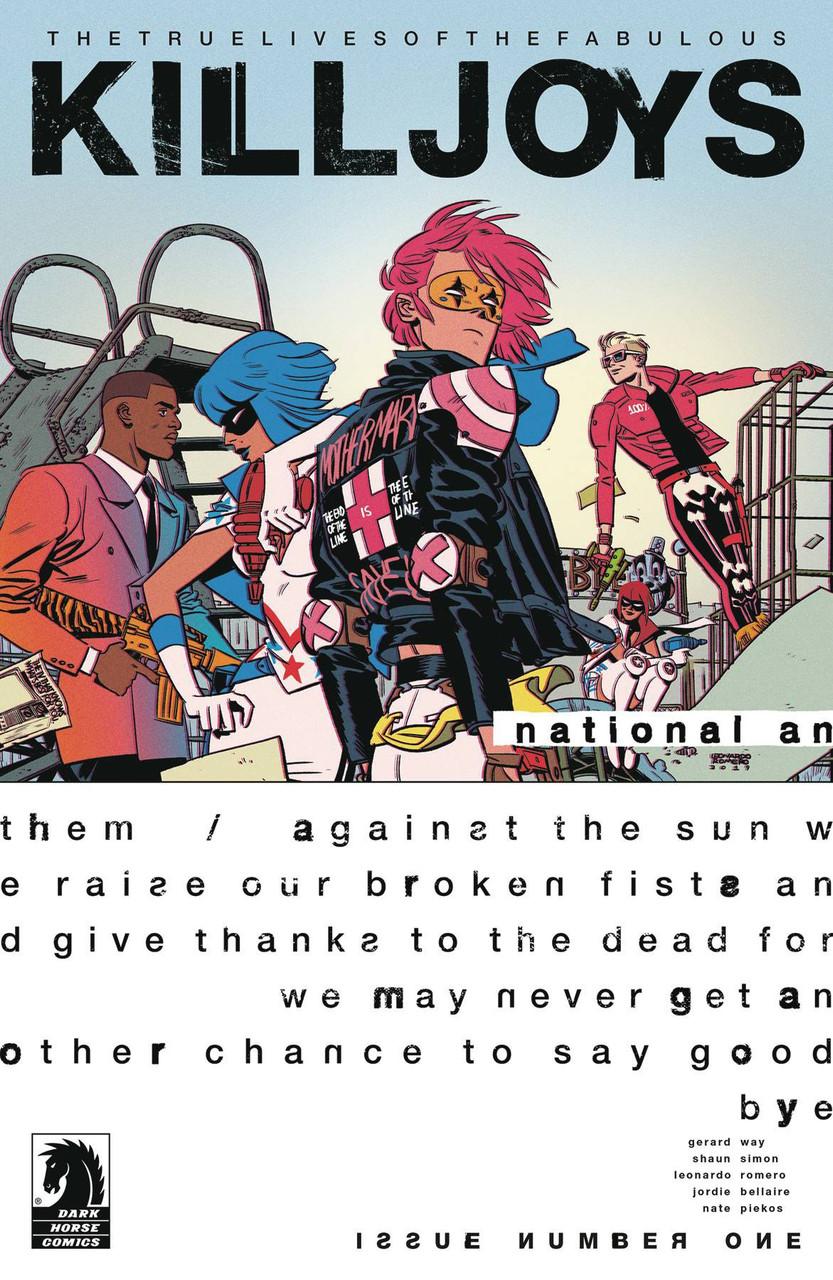 Dark Horse True Lives Of The Fabulous Killjoys National Anthem