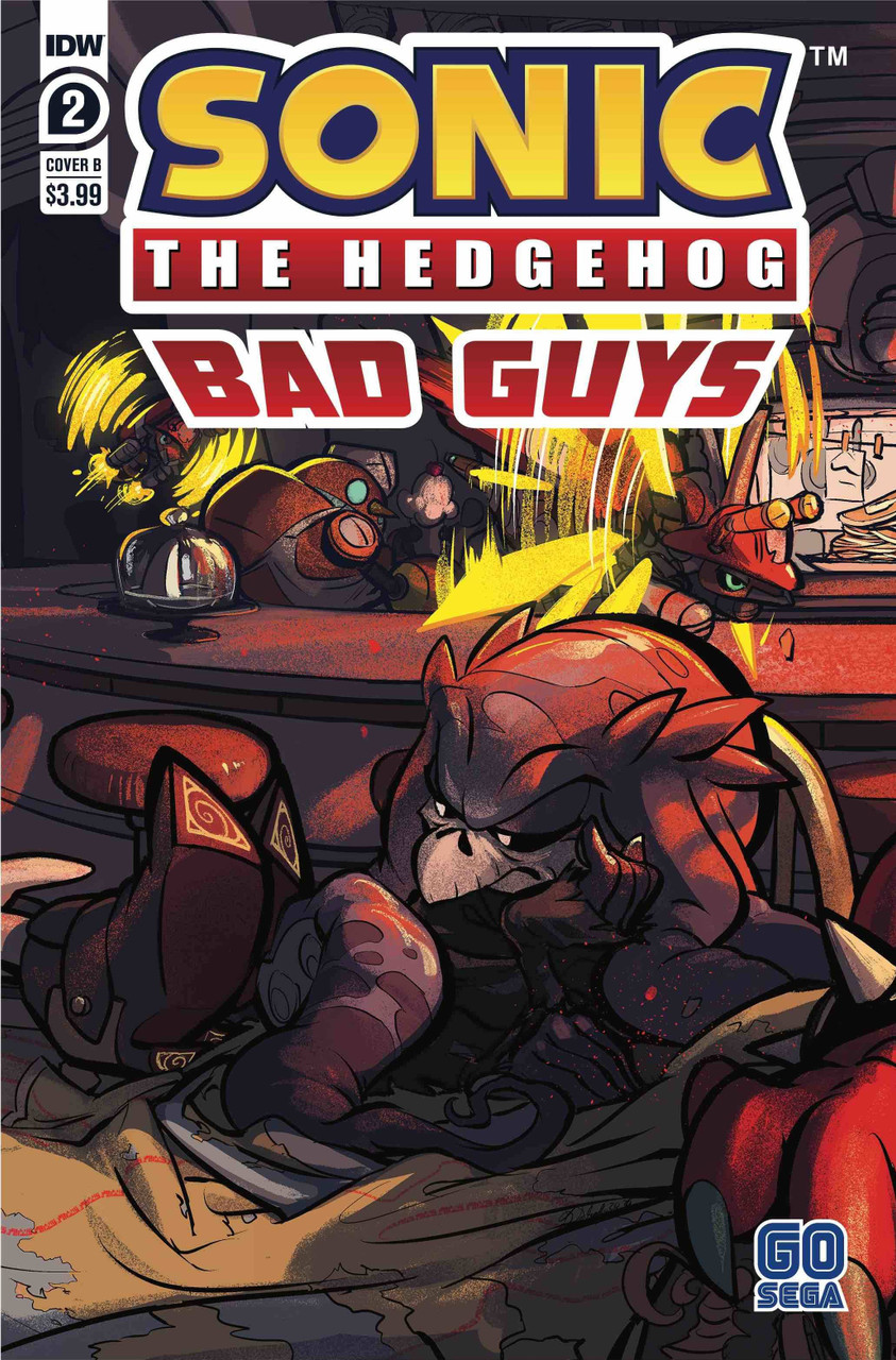 Idw Sonic The Hedgehog Bad Guys Comic Book 2 Of 4 Cover B Idw Publishing Toywiz