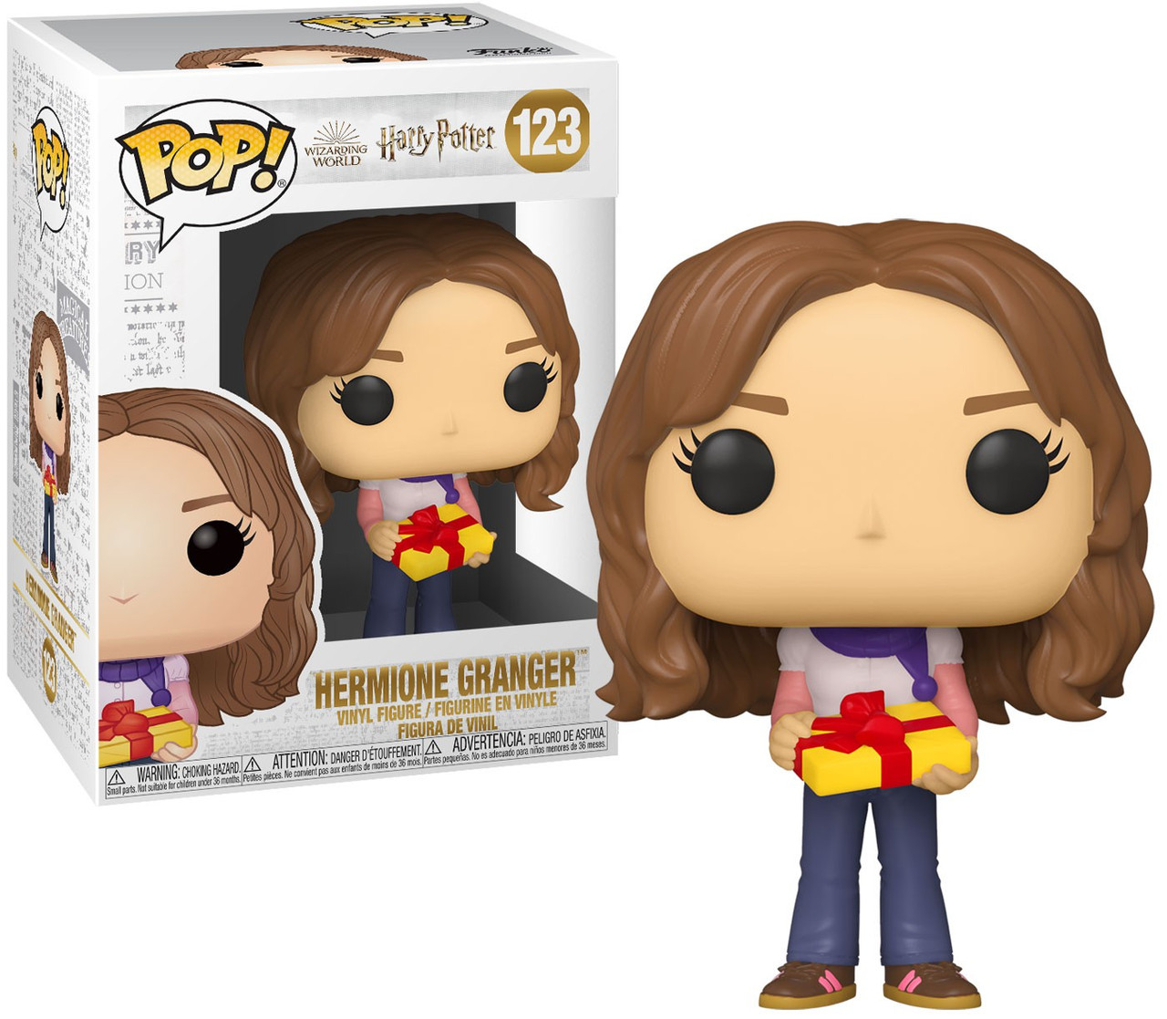 Funko Pop Movies Harry Potter Holiday Hermione Granger