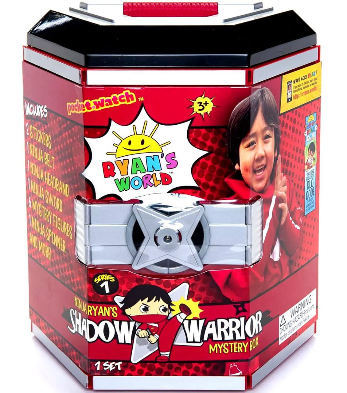 ryan mystery ninja warrior shadow ryans exclusive figures target martial arts gear walmart spinner surprises surprise packaging toy toywiz robo