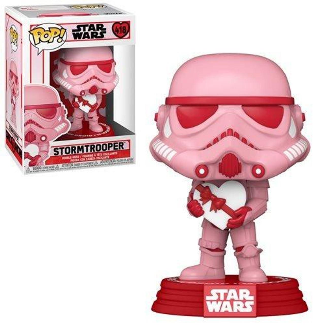 Valentines Stormtrooper With Heart #418 Bobble Star Wars PRE-ORDER Funko POP