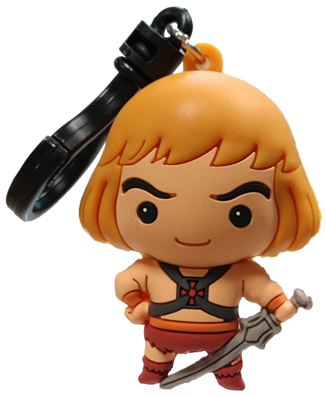 Masters of the Universe Figural Bag Clip 3 Inch He-Man