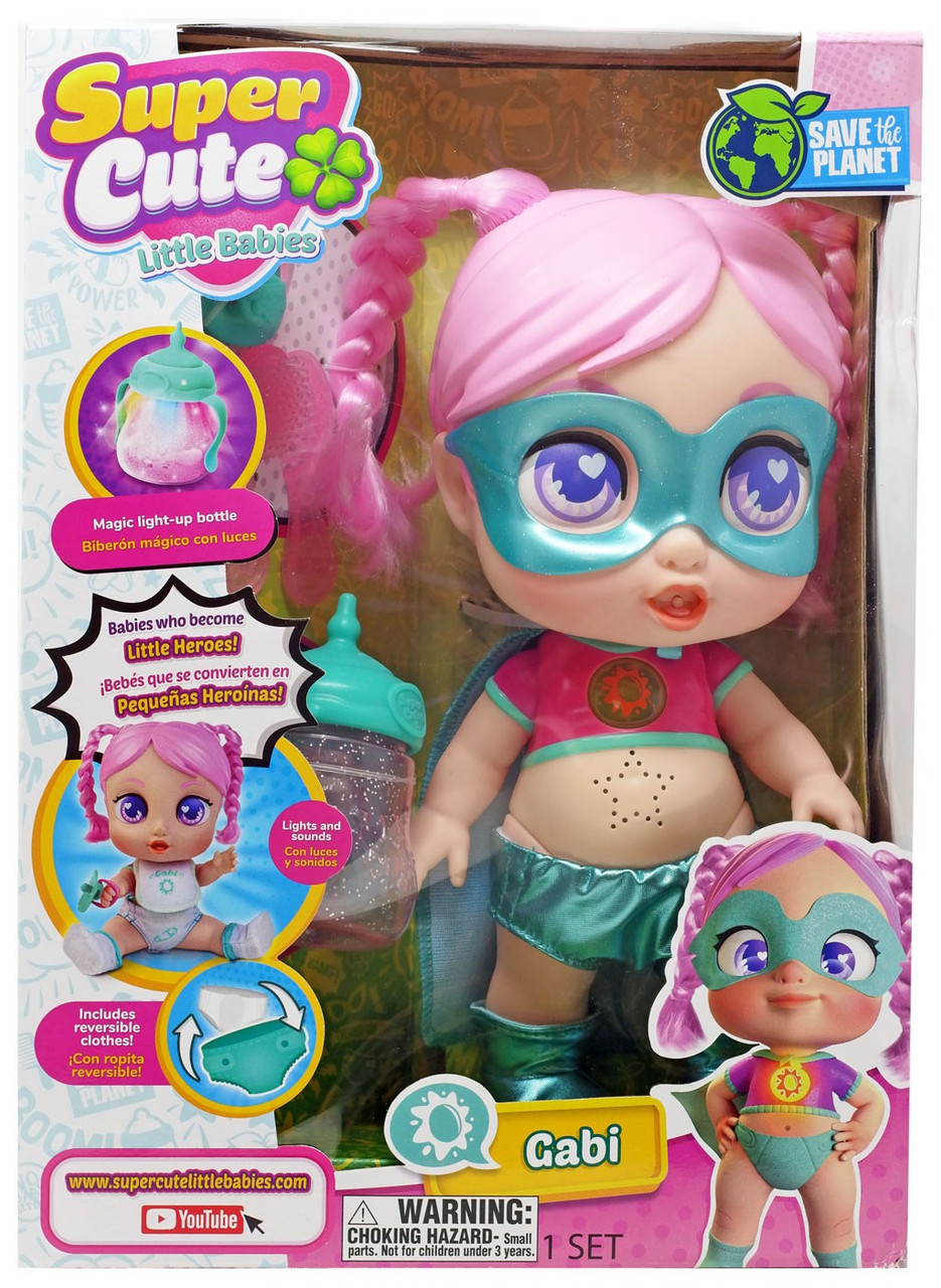 Super Cute Little Babies Gabi Doll Jay At Play Toywiz
