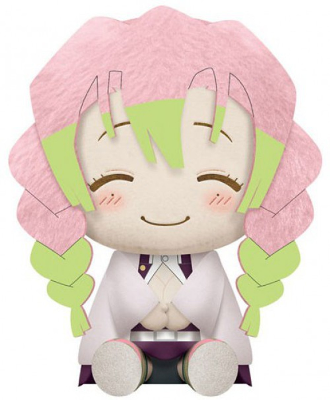 Demon Slayer Mitsuri Kanroji 8 Big Plush Surreal Entertainment Toywiz The most common mitsuri demon slayer material is plastic. banpresto