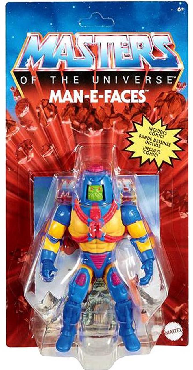 Master of The Universe MAN E FACES Origins MOTU Mattel Exclusive Action Figure