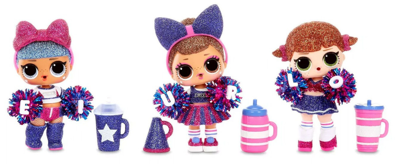 Lol Surprise All Stars Bbs Series 2 Cheer Team Mystery Pack Blue Team Mga Entertainment Toywiz