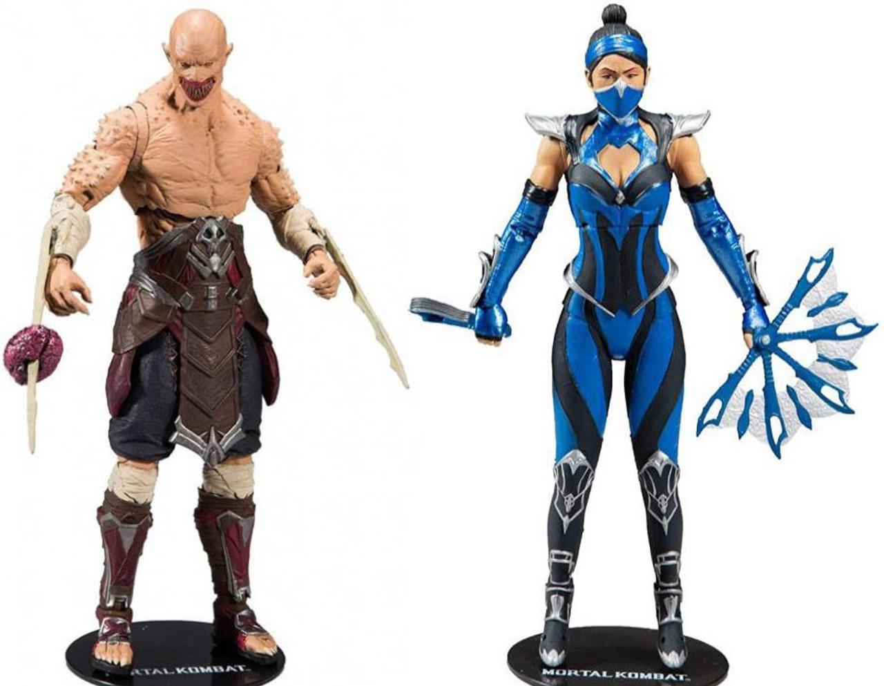 McFarlane Toys-Mortal Kombat-Kitana Figure Action