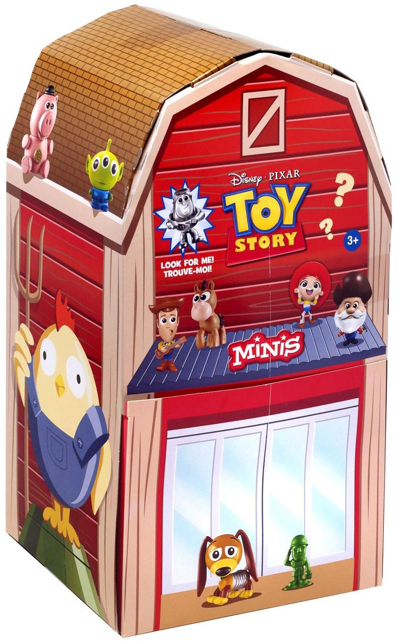 Toy Story Minis Als Toy Barn Mystery Box 36 Packs Mattel Toywiz