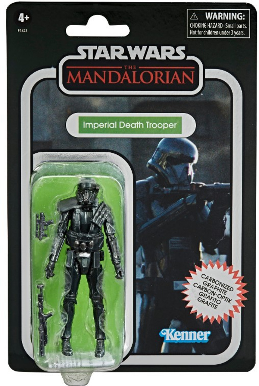 Carbonized Imperial Death Trooper Star Wars The Mandalorian Vintage Collection