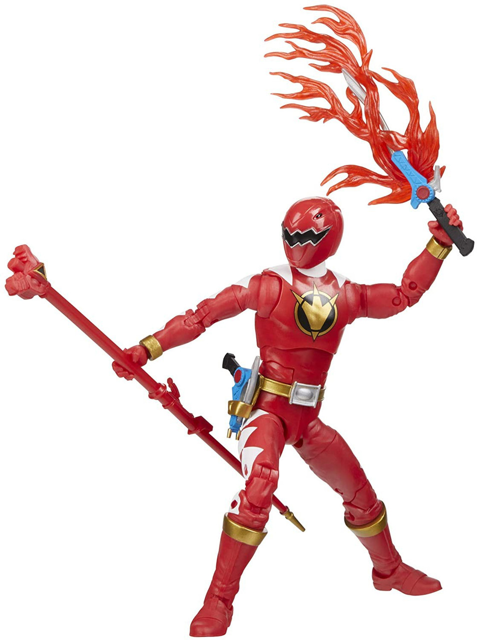 """Power Rangers Lightning Collection 6/"""" Dino Charge Red Ranger Figure Sealed"""