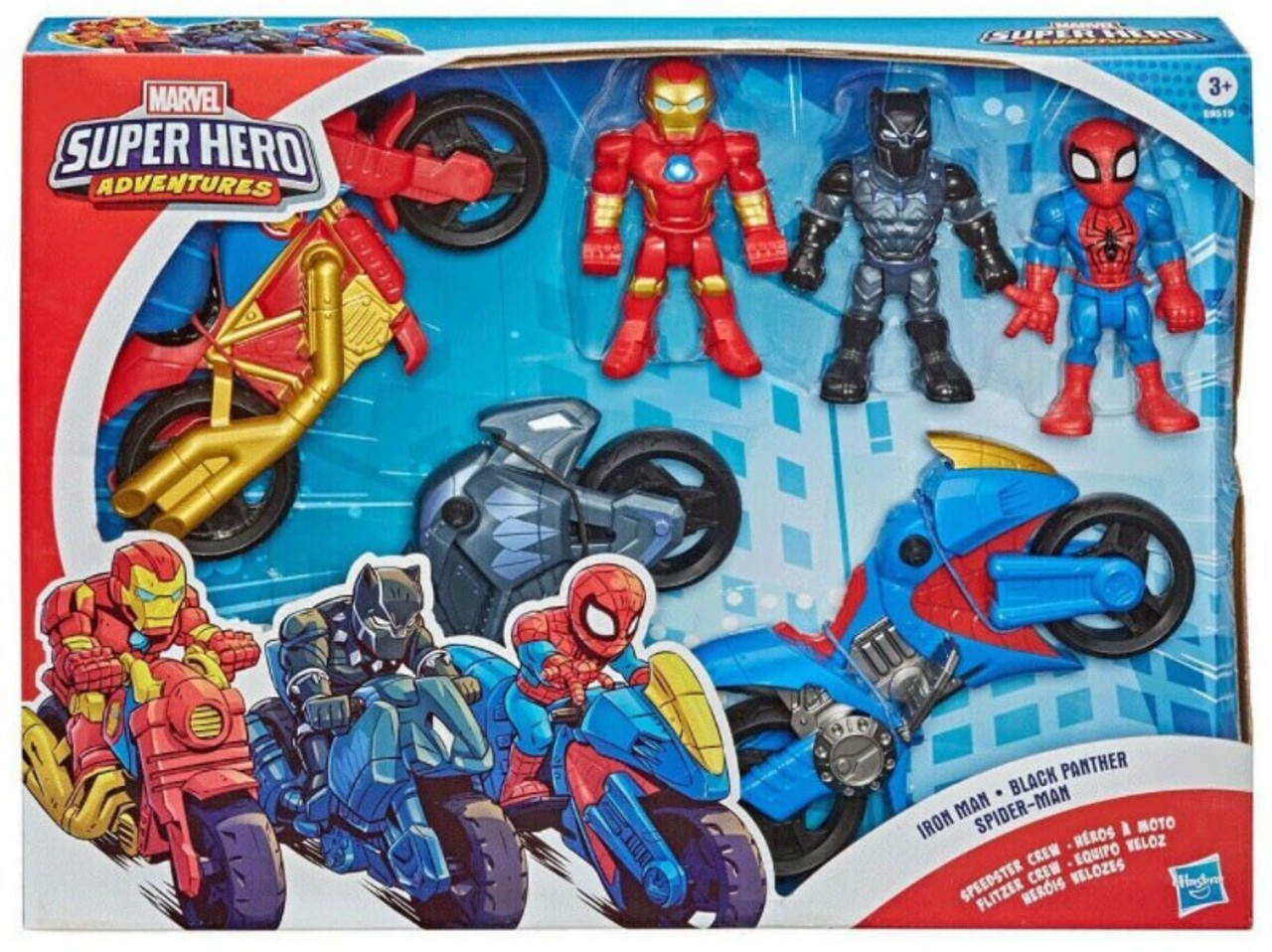 Playskool Eroi Marvel Super Eroe AVVENTURE 5-inch Spider-Man Action Figure