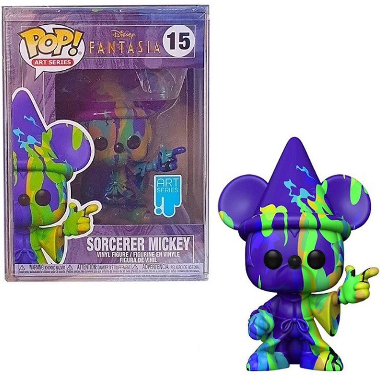 Funko Disney Fantasia 80th Anniversary Pop Disney Mickey 2 Vinyl Figure Artist Series Toywiz